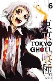 book cover image jpg tokyo ghoul vol 6