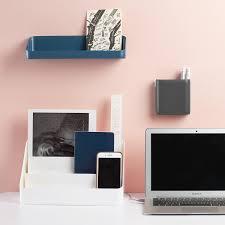 White Poppin All-in-One Desktop Organizer