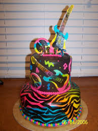 Find Pictures Of Rock Star Cakes Rock Star Cake Childrens