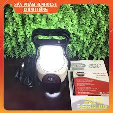 Đèn sạc tích điện siêu sáng SUNHOUSE SHE-6848LA, đèn dự phòng cúp điện đa  năng - Chính hãng Sunhouse