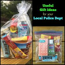 small appreciation gift ideas for your local police department