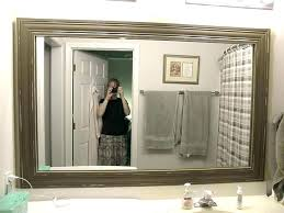 wall mirrors target framed mirror framing a with wood ont ideas bathroom frame white australia