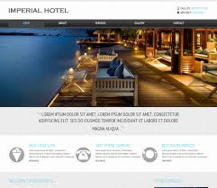 Free Downloads Web Templates 22 Free Premium Hotel Html Templates With Booking