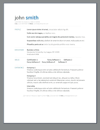 Professional Resume Template Doc Cv Free Templates Thewhyfactorco