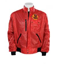 cobra windbreaker red jacket
