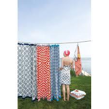 impressive jonathan adler shower curtain stepped chevron geometric