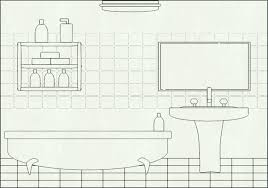 bathroom clipart black and white. Fine Bathroom Restroom Clipart Black And White Bathroom Pencil In Color Graphic Free  Stock On Clipart Black And White D
