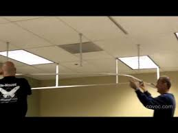 how to hang track lighting. how to install a suspended cubicle track and curtain by covoc corp youtube hang lighting