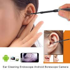 Light Up Ear Cleaner Ear Otoscope Xpiwhtow Waterproof Camera With 6 Adjustable Led Light Ear Pick Endoscope
