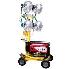 Portable Light Generator 4 1000w Outdoor Portable Light Tower Generator Mobile Light Tower