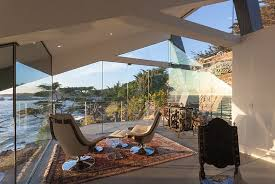 contemporary sunroom furniture. Sunroom Provides A Space For Relaxation And Reflection As You Overlook The Rigged Coastline [Design Contemporary Furniture O