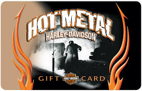 gift cards hot metal harley davidson