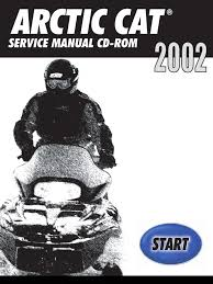 arctic cat 2002 repair manual gasoline belt mechanical
