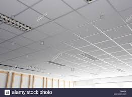 Square Office Lights Suspended Ceiling With Led Square Lamps Sin The Office Stock