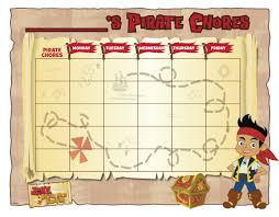 Jake And The Neverland Pirates Potty Chart Help Your Little Pirate Make Chores Fun With This Chore