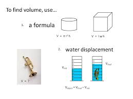 volume of water equation. volume by water displacement worksheet equation jennarocca ideas of fts-e.info
