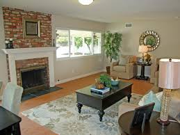living room ideas with red brick fireplace visi build best what color paint