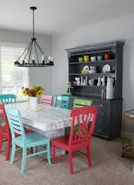 this homeowner s dining room finally matches her age