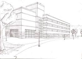 perspective drawings of buildings. Http://scottwatson87sw.webs.com/Exterior%20building%20and% · Perspective Art Exterior Drawings Of Buildings