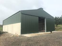buildings focus a calf shed with a simple design in co tipperary