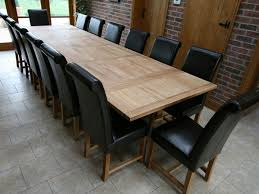 Image of: Extendable Dining Table Seats 12