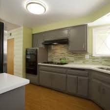 kitchens with white cabinets and green walls. Pale Green Kitchen With Gray Cabinetry Kitchens White Cabinets And Walls E