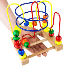 Wooden Bead Game Amazon Developmental Wooden Bead Maze Game by Imagination 17