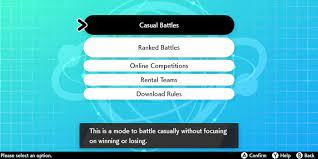 Pokemon Sword and Shield Online Multiplayer Battle Stadium Detailed