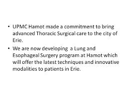 Upmc Hamot Thoracic Surgery At Upmc Hamot Manisha Shende Md Facs Chief