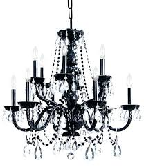 black crystal chandelier traditional light canada black crystal chandelier