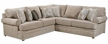 macy pewter two piece sectional the