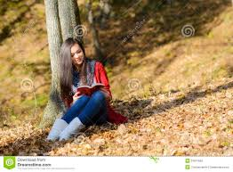 beautiful girl book. Fine Beautiful Beautiful Girl With Book In The Autumn Park Throughout Girl Book L