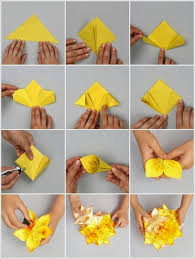 How To Make Origami Paper Flower Free Image Host Art And Craft How To Make A Paper Flower
