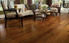Hardwood Floor in a Traditional Living Room