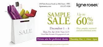 ligne roset private sample sale paris in new york