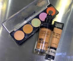 makeup forever concealer correct palette
