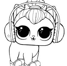 15 Free Printable Lol Surprise Pet Coloring Pages Pertaining To Lol