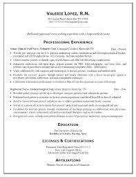 Sample Nurses Resume Cool Sample Registered Nurse Resume Registered Nurse Resume Examples