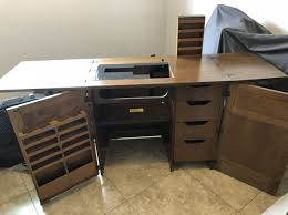 Parsons Sewing Machine Cabinet