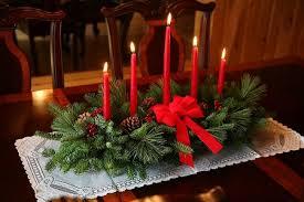 Classic 5 Candle Centerpiece | Christmas Centerpiece ...