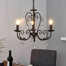 black chandelier sophina 3 bulb 9639022 31
