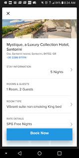 Expired Off The Charts Bookable Top Tier Spg Properties
