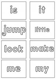 Dolch Sight Words Flash Cards Pre Primer Sight Words