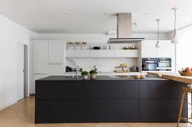 modern kitchen designs. Black-kitchen-ideas-freshome29 Modern Kitchen Designs