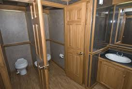 Bathroom Rentals Black Tie Restroom Trailer Fa 40 Fascinating Trailer Bathroom Rental