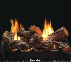 empire rock creek see thru vent free gas logs 18 propane real vent free gas log set size 18 logs in propane fireplace