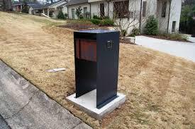 decorative modern mailboxes
