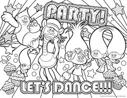 oke4zkg dreamworks trolls coloring pages getcoloringpages com on coloring page of trolls