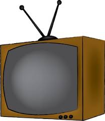 Image result for caricatures of a tv set