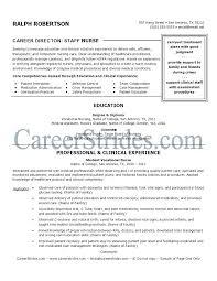 Resume Format For Nurses Letter Resume Directory